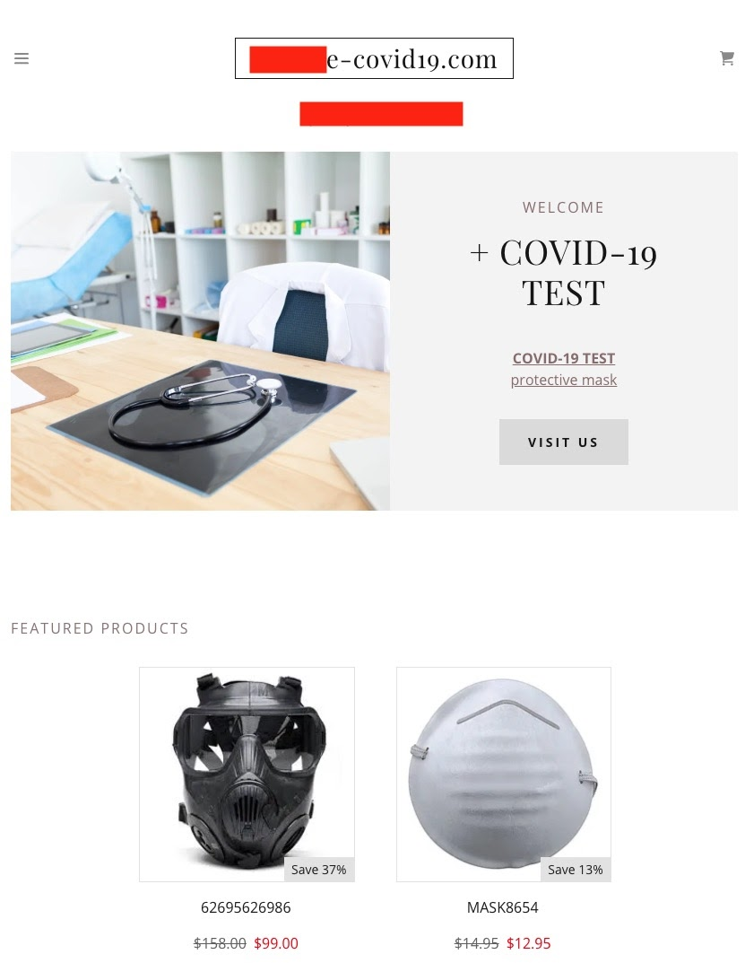 , Threat Intel | Cyber Attacks Leveraging the COVID-19/CoronaVirus …, Wholesale: Personal Protective Equipment Store