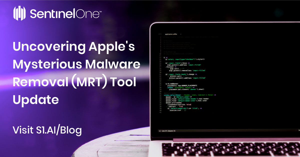 Apple Malware: Uncovering the Mysterious Removal (MRT) Tool Update