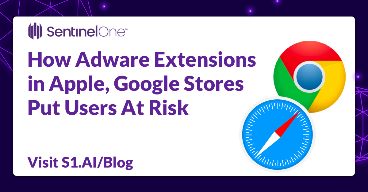 How Adware Extensions ?in Apple, Google Stores ?Put Users At Risk