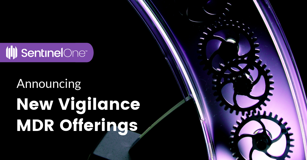 NEW VIGILANCE MDR OFFERINGS TO FURTHER ENHANCE THE INDUSTRY'S FASTEST RESPONDING SERVICE