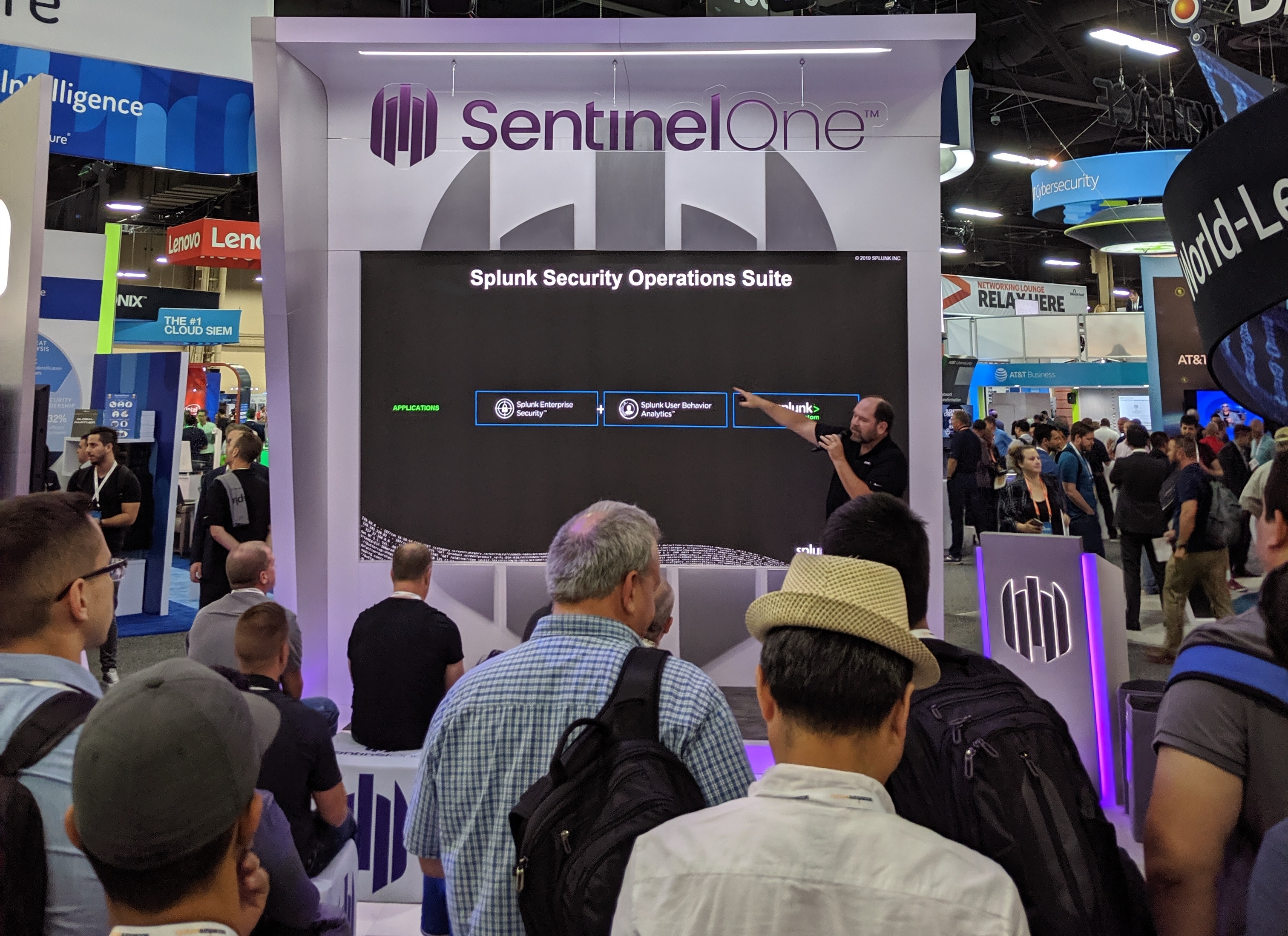 image of splunk at black hat