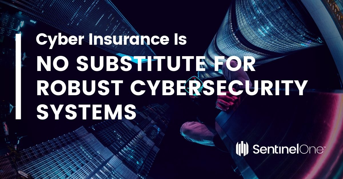 image cyber insurance no substitute