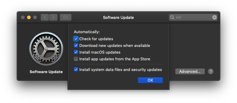 image of software update