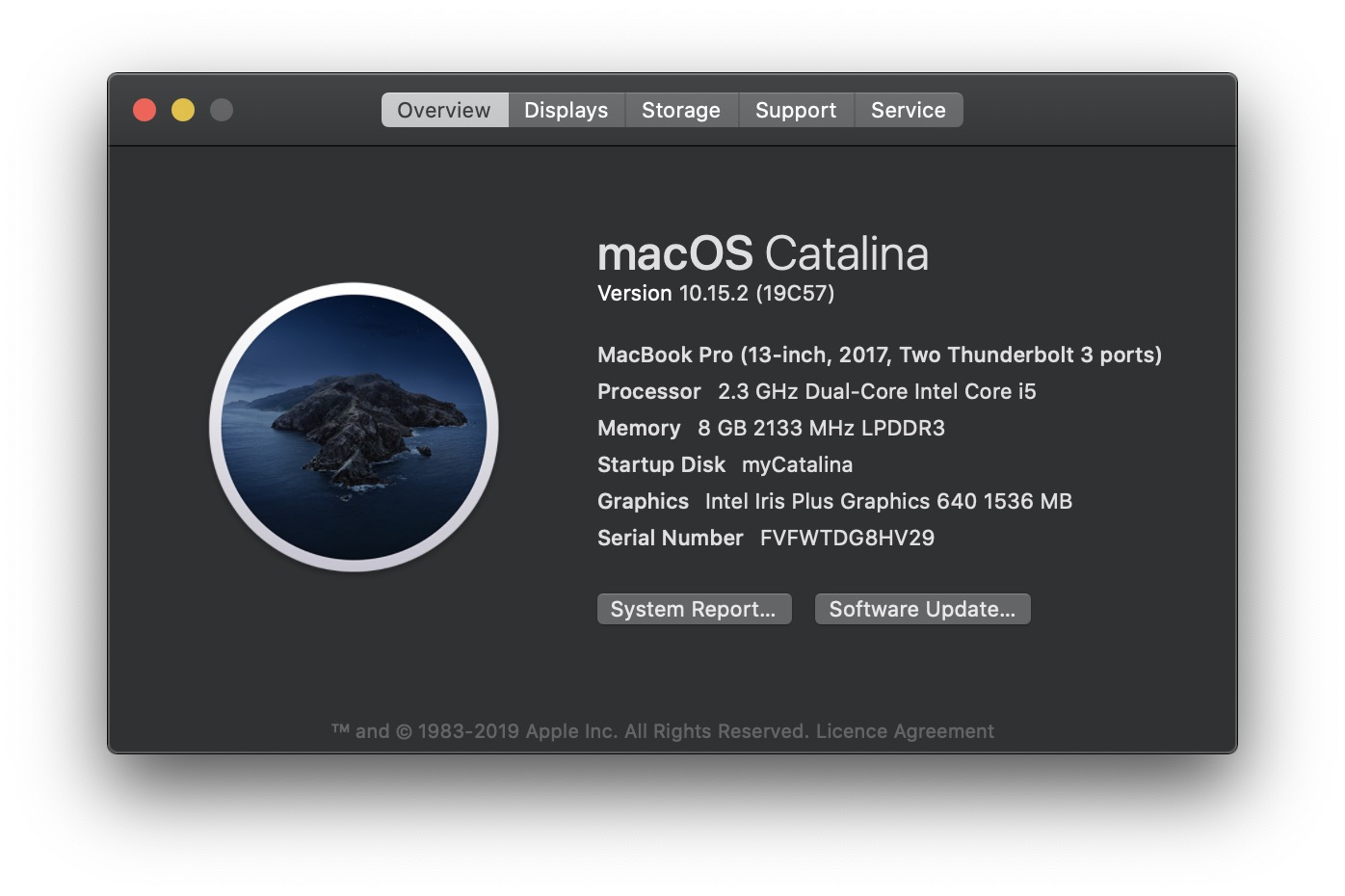 image of Catalina 10.15.2